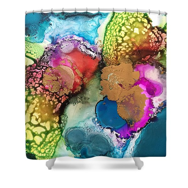 Transformation Shower Curtain