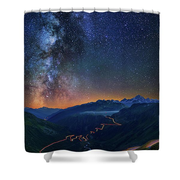 Transience And Eternity Shower Curtain