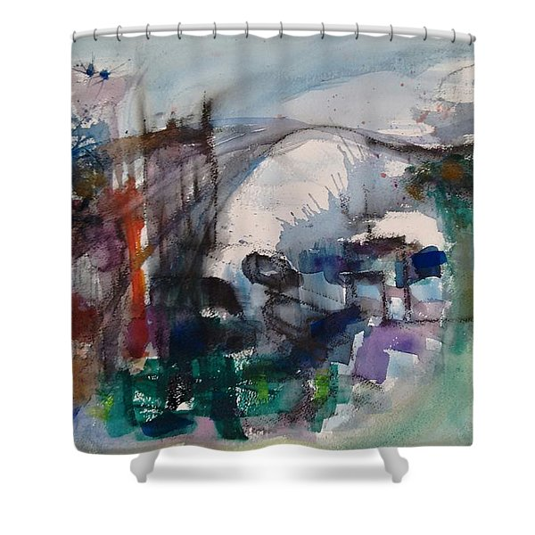 Travels Shower Curtain