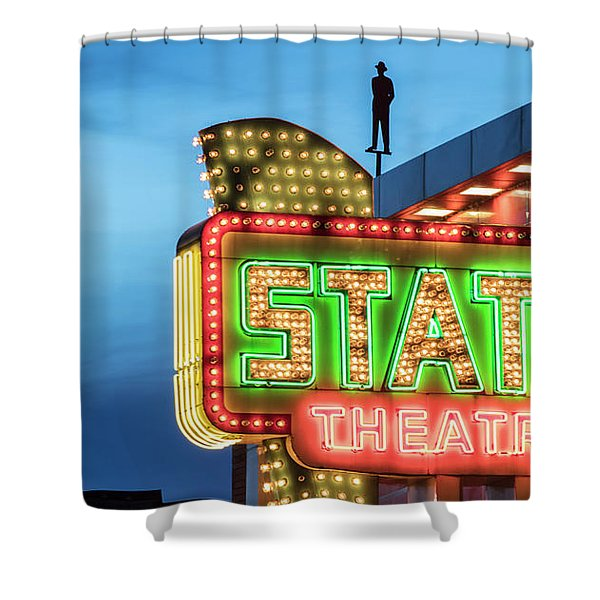 Traverse City State Theatre Shower Curtain