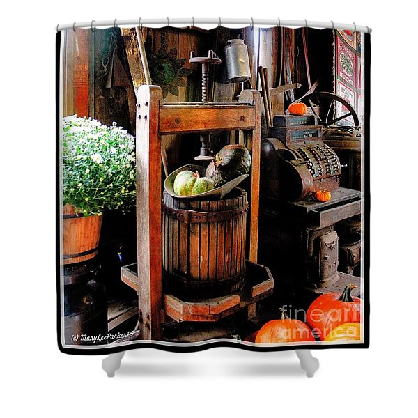 Treasures Of  Fall Shower Curtain
