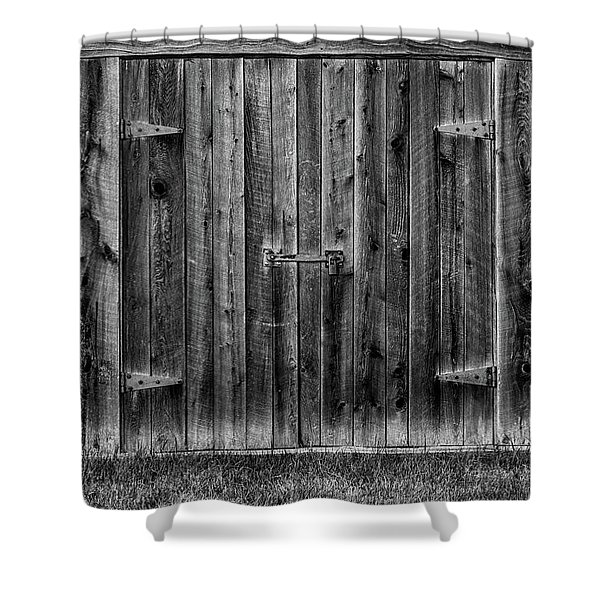 Shower Curtain featuring the photograph Treat Farm 2 by Heather Kenward