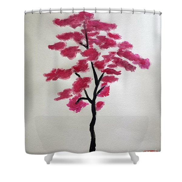 Tree Of Grace Shower Curtain