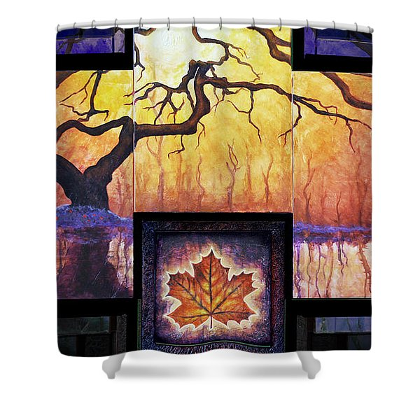 Tree Of Life The Giver Shower Curtain