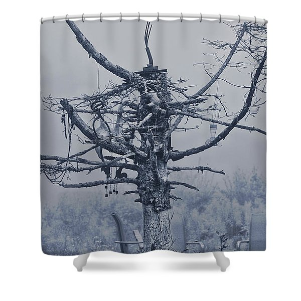 Tree Of Lost Possibles Shower Curtain
