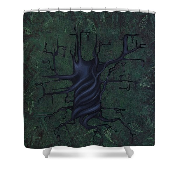 Tree Of Secrets Shower Curtain