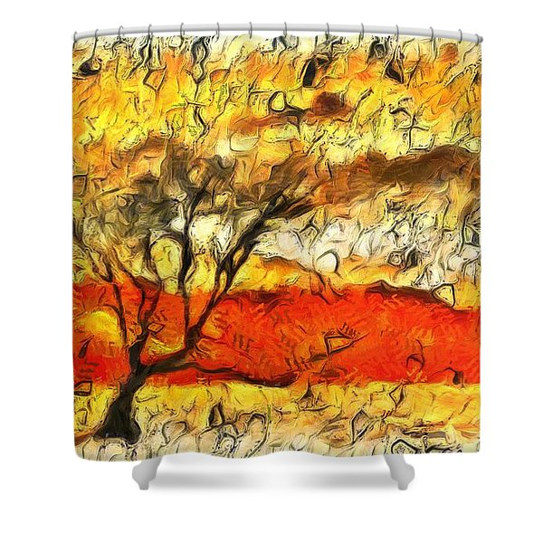 Tree Of The Living Shower Curtain