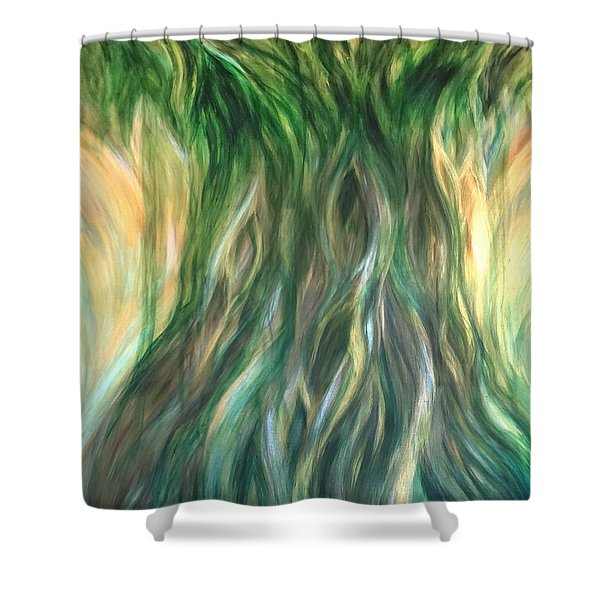 Tree Of Wisdom Shower Curtain