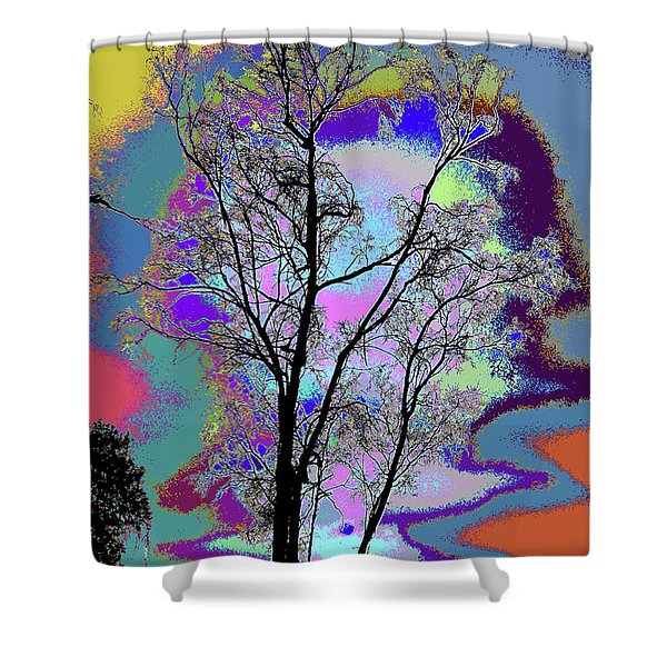 Tree - Story Of Life Shower Curtain