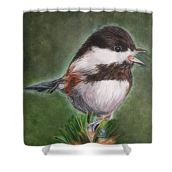 Tree Topper Shower Curtain