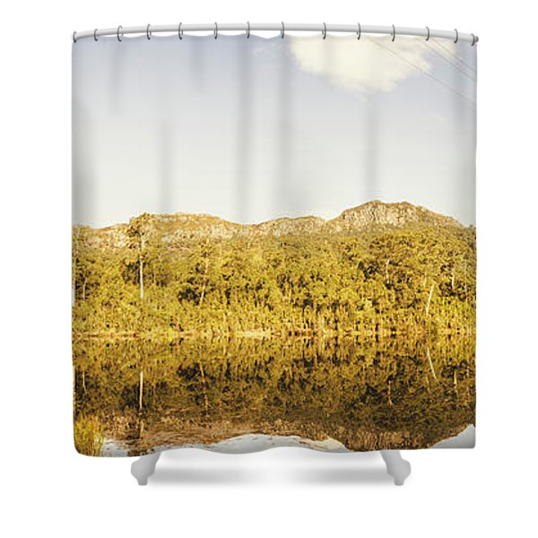 Treepanning Shower Curtain
