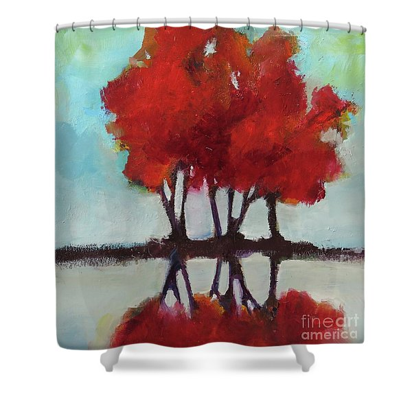 Trees For Alice Shower Curtain