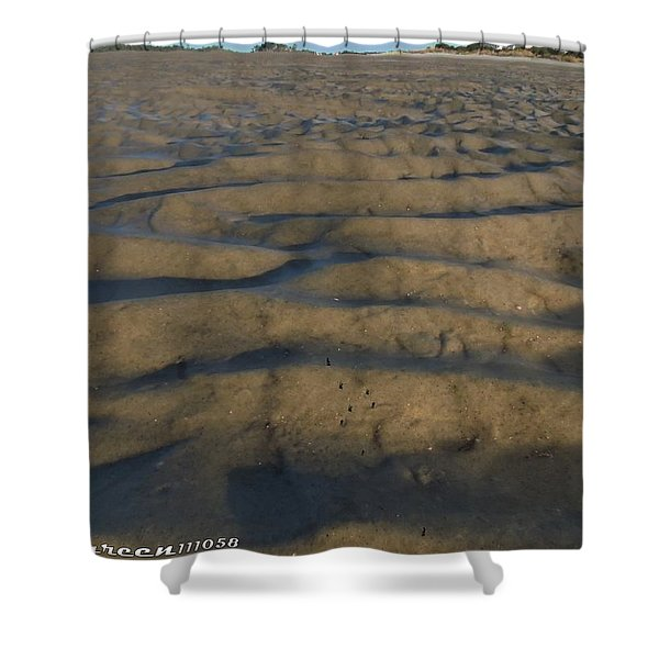 Trekking Alien Terrain Shower Curtain