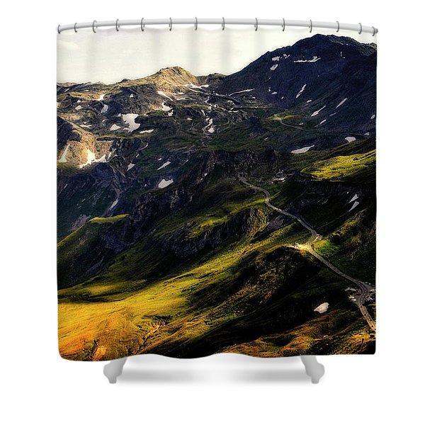 Shower Curtain featuring the photograph Trekking Thru Austria by Gerlinde Keating - Galleria GK Keating Associates Inc