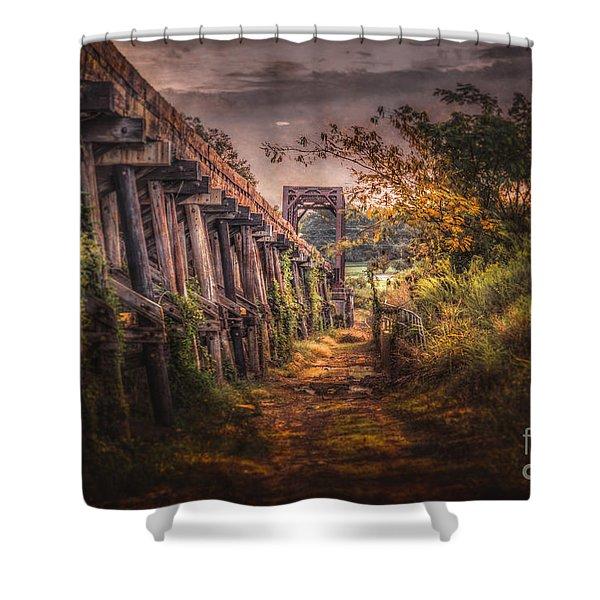 Tressel Shower Curtain