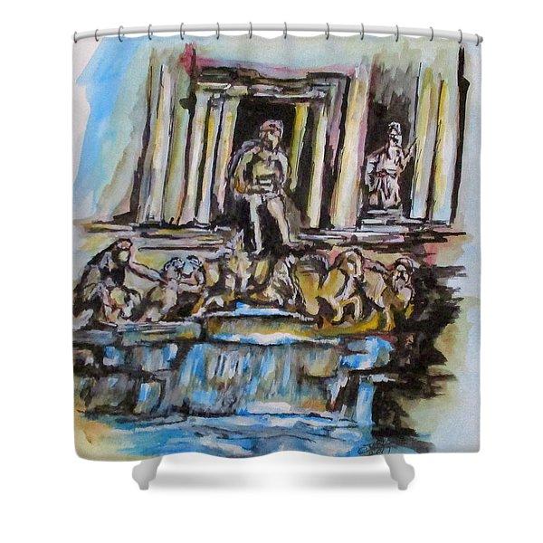 Trevi Fountain, Rome Shower Curtain