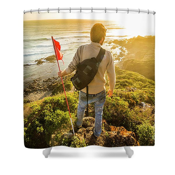 Trials And Triumphs  Shower Curtain