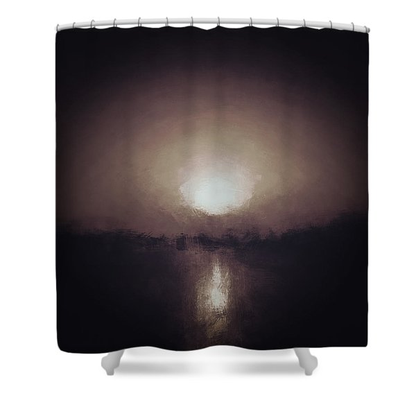 Tribes Under The Moon Shower Curtain