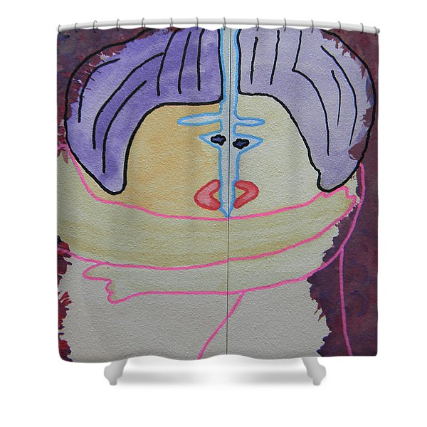 Tribute To C. Brancusi Shower Curtain