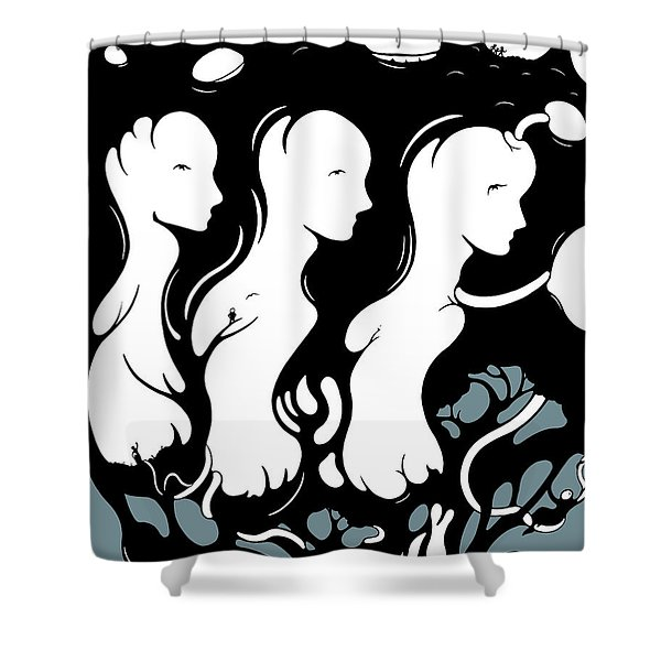 Trilogy Shower Curtain