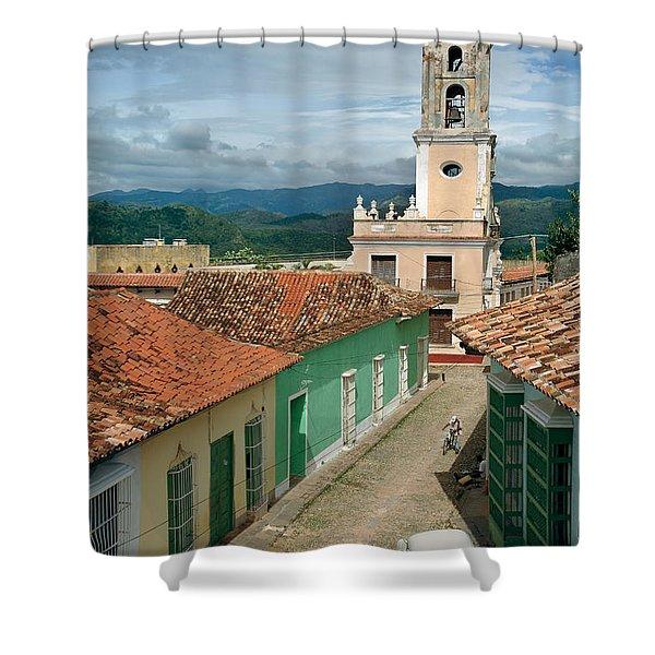 Trinidad - Cuba Shower Curtain