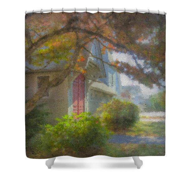 Trinity Episcopal Church, Bridgewater, Massachusetts Shower Curtain