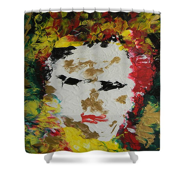 Trinity Panel Two Shower Curtain
