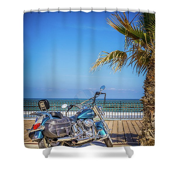 Trip To The Sea. Shower Curtain