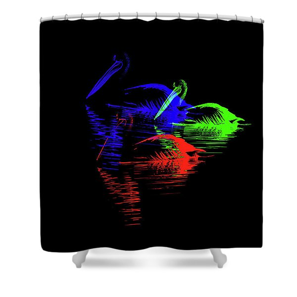 Tripolar Shower Curtain