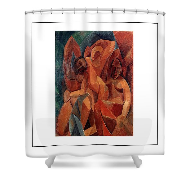 Trois Femmes Three Women  Shower Curtain