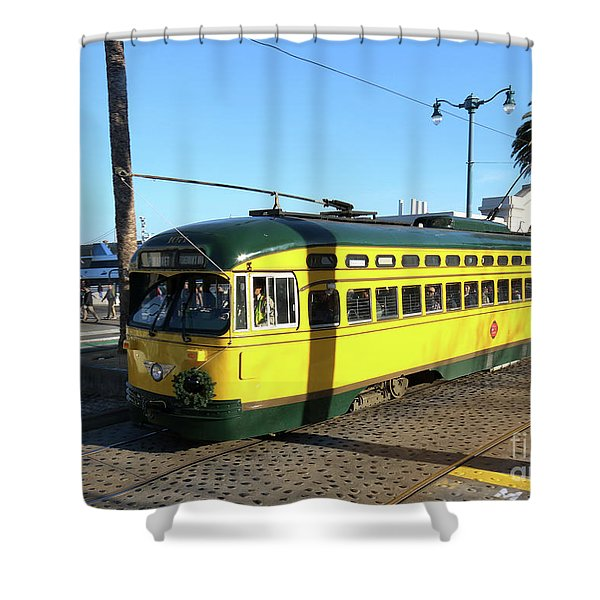 Trolley Number 1071 Shower Curtain