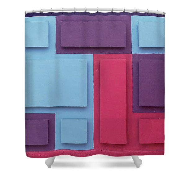 Tropical Composition Shower Curtain