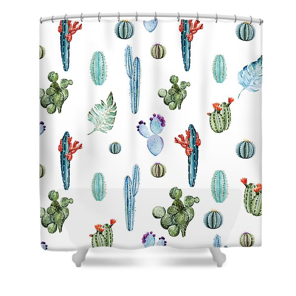 Tropical Forever 2 Shower Curtain