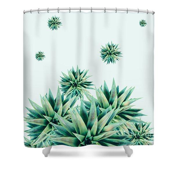 Tropical Stars  Shower Curtain
