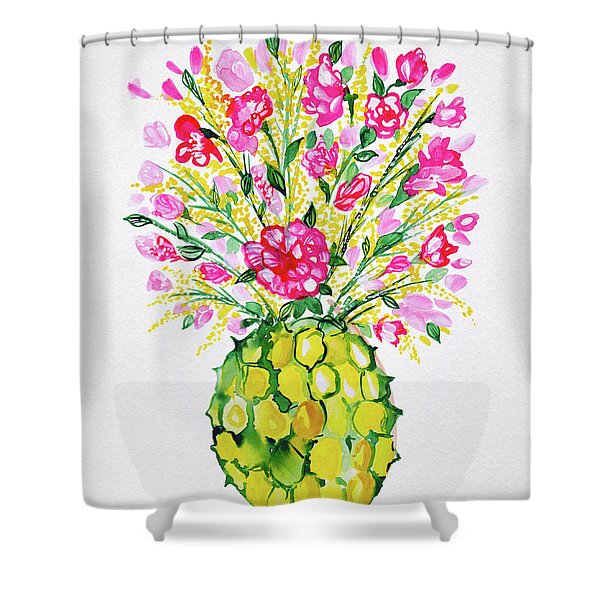 Tropical Vibes Shower Curtain