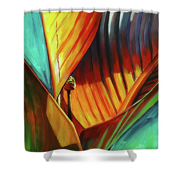 Tropicanna Canna Shower Curtain