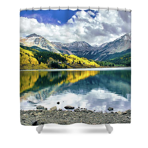 Trout Lake Shower Curtain