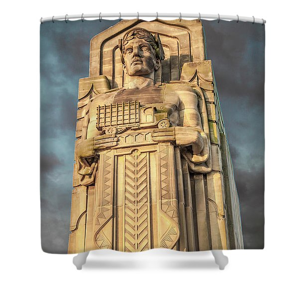 Truck Guardian Shower Curtain