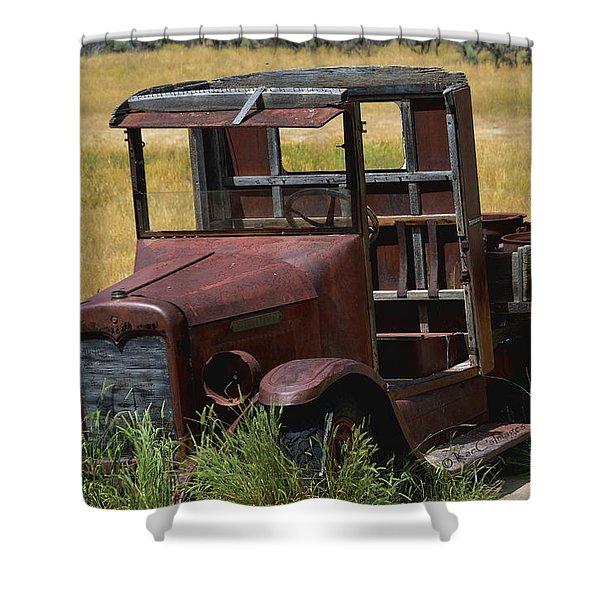 Truck Long Gone Shower Curtain