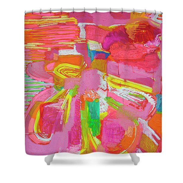 True And Fake Shower Curtain
