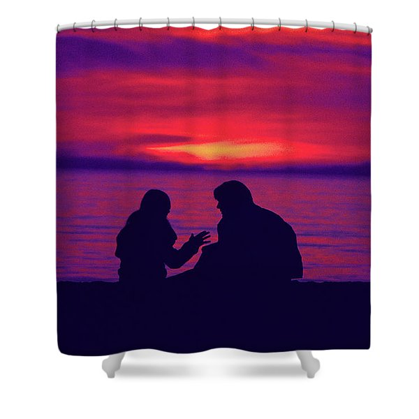 True Confessions Shower Curtain