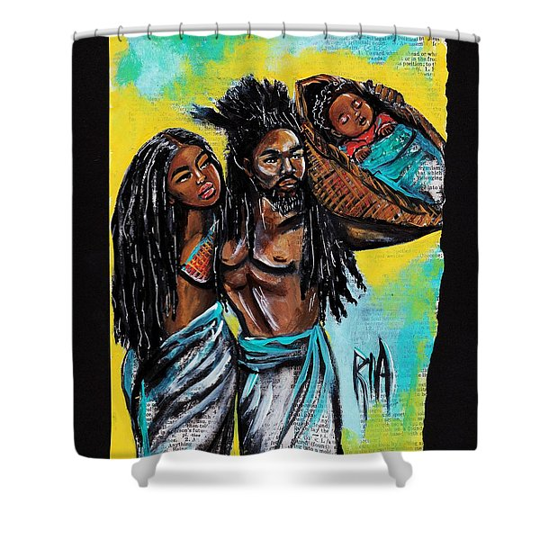 True Foundation Shower Curtain