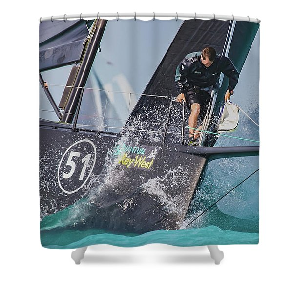 Regatta Action Shower Curtain