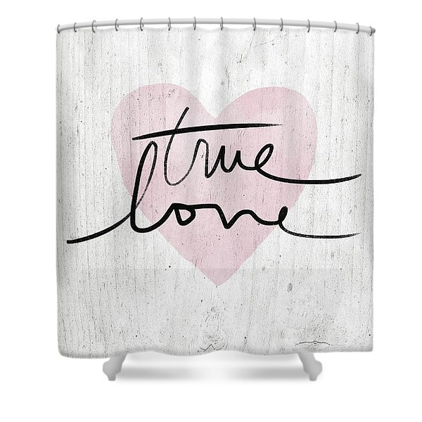 True Love Rustic- Art By Linda Woods Shower Curtain