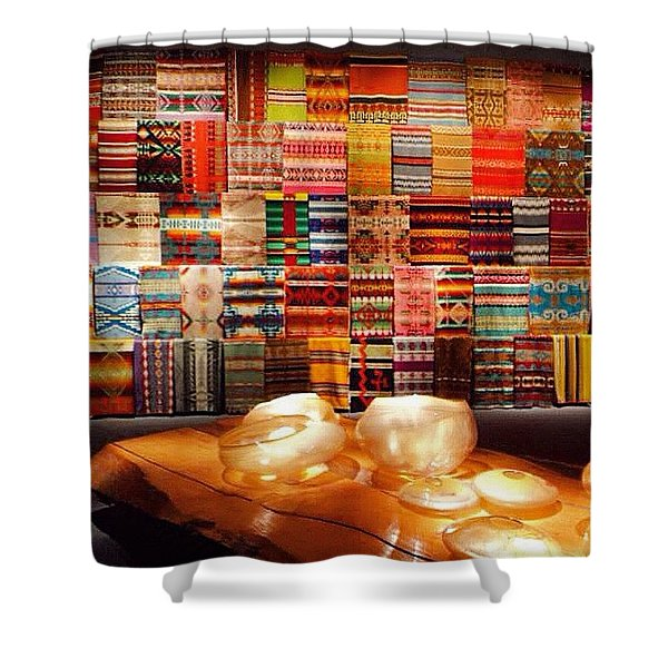 The Vision Of Chihuly  Shower Curtain