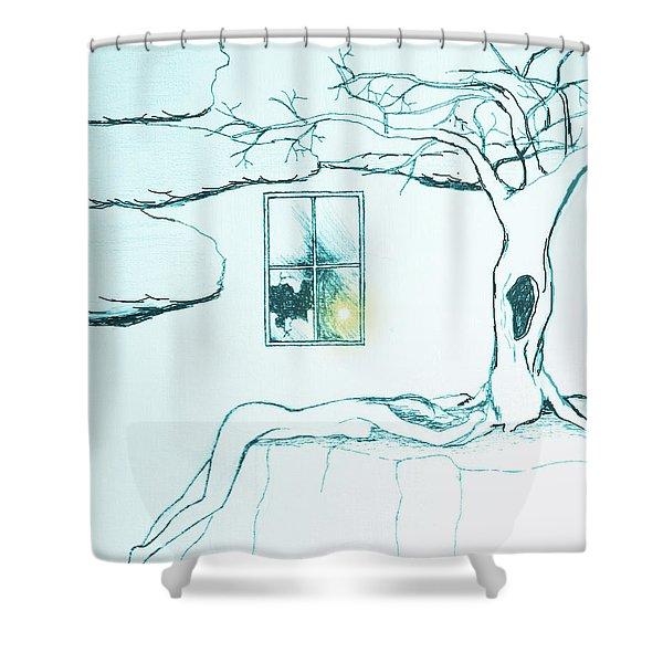 Truth Shower Curtain