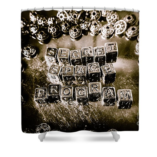 Truth Is Stranger Than Fiction Shower Curtain