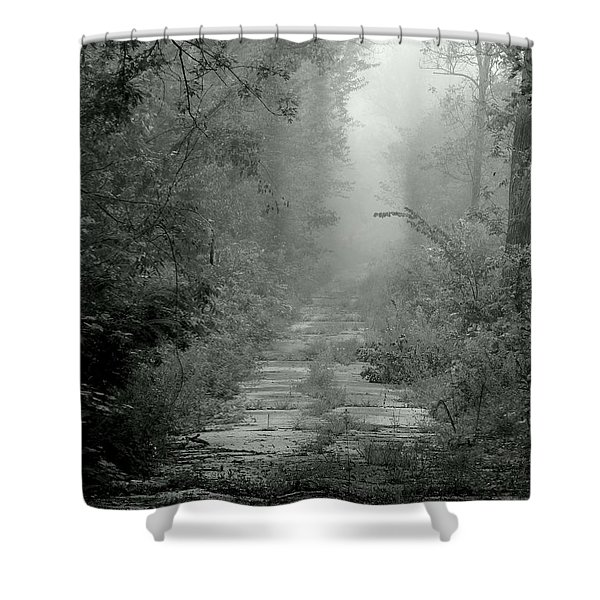 Tuatha De Danann Road Shower Curtain