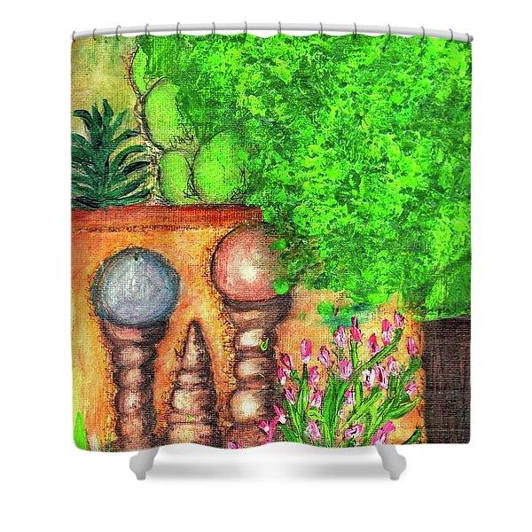 Tucson Garden Shower Curtain