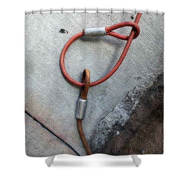 Tucson Streets 180 Shower Curtain